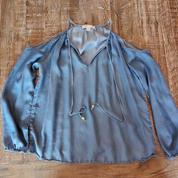 MICHAEL Michael Kors Tops - Long sleeve, cold shoulder top